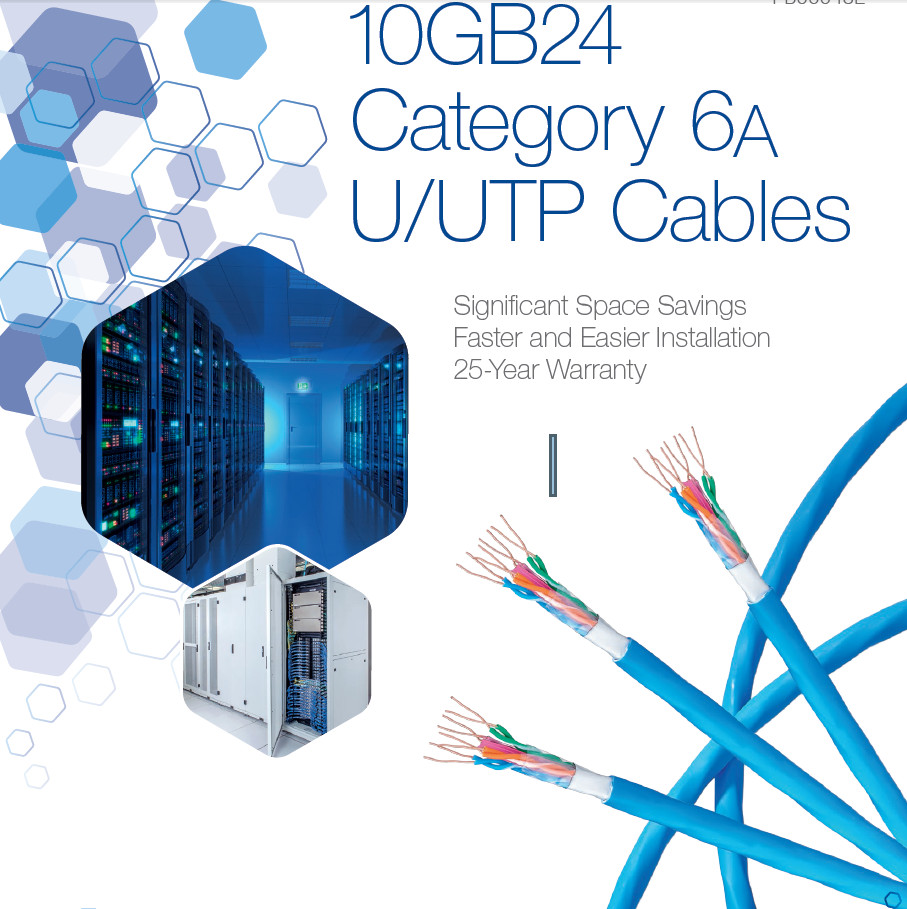 BELDEN Copper- CAT 6A System - 10GB Category 6A U/UTP Cable