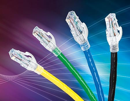 Cáp nhảy Cat6 UTP, lõi bện 24AWG Category 6 UTP Stranded Patch Cord